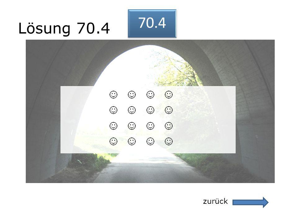 Lösung 70.4 zurück 70.4