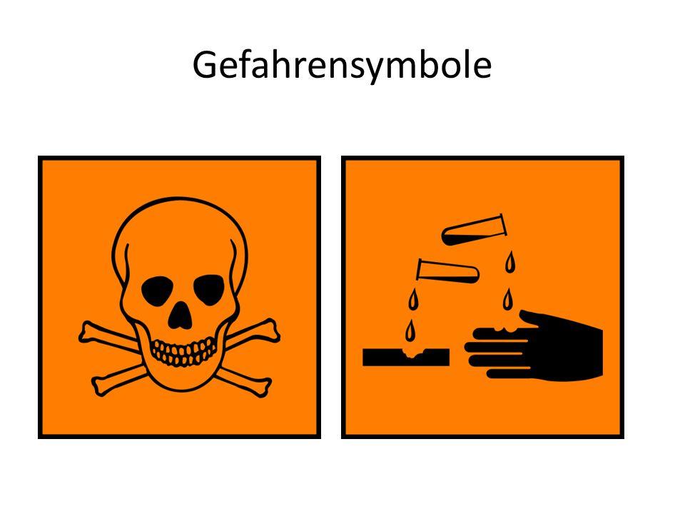 Gefahrensymbole