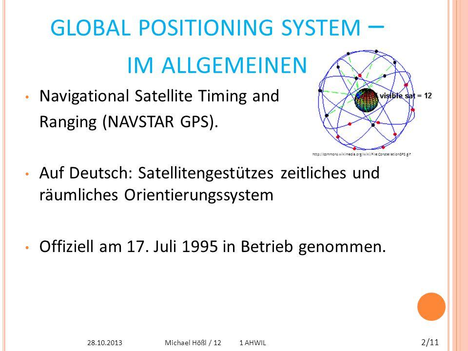 V ON WO KOMMT DAS GPS .Ursprünglich für militärische Zwecke.