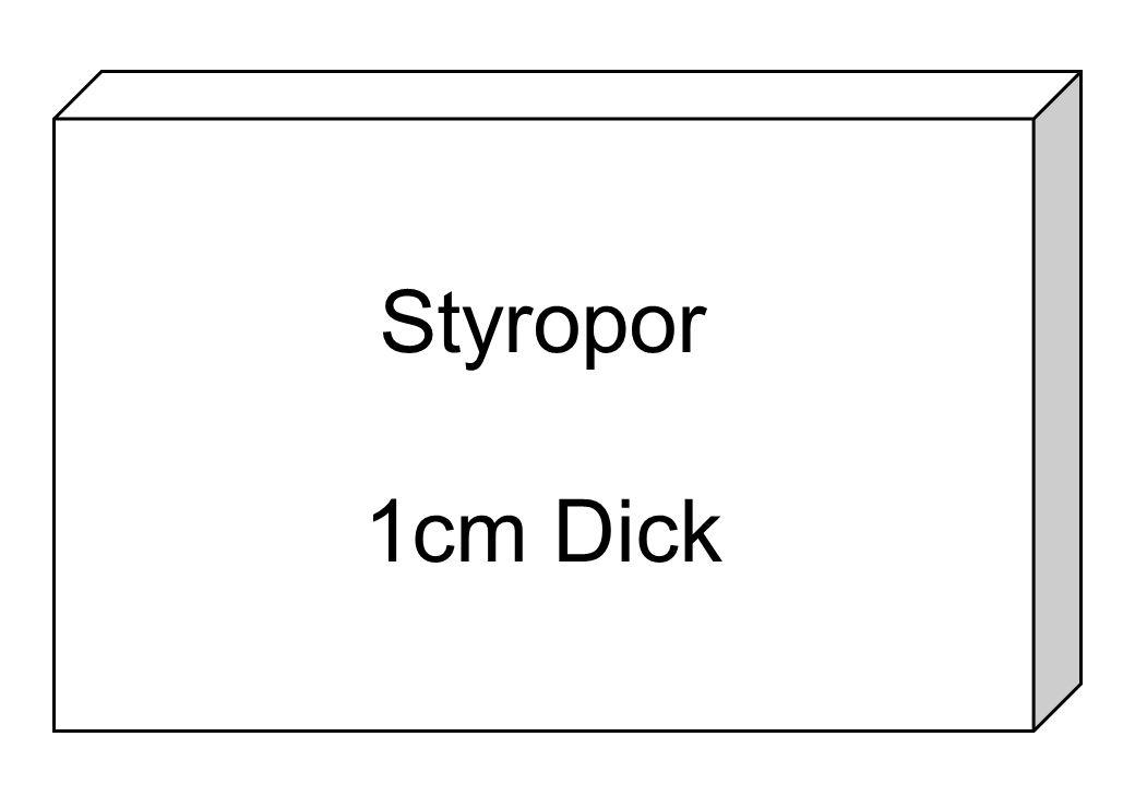 Styropor 1cm Dick