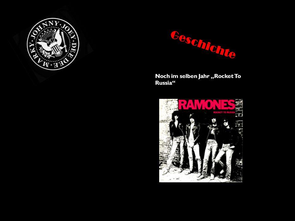 """Von Jahre1978 bis 1980 erschienen 4 weitere Alben: """"Road To Ruin """"It's Alive """"Rock'n'Roll Highschool (von dem gleichnamigen Film) """"End Of The Century Geschichte"""
