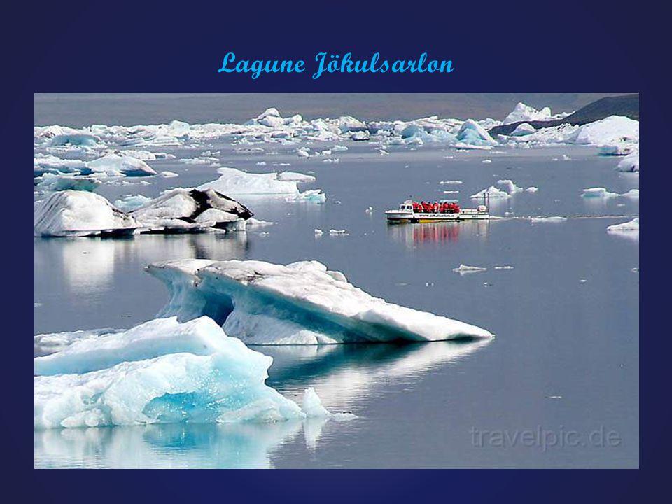 Gletscherlagune Jökulsarlon