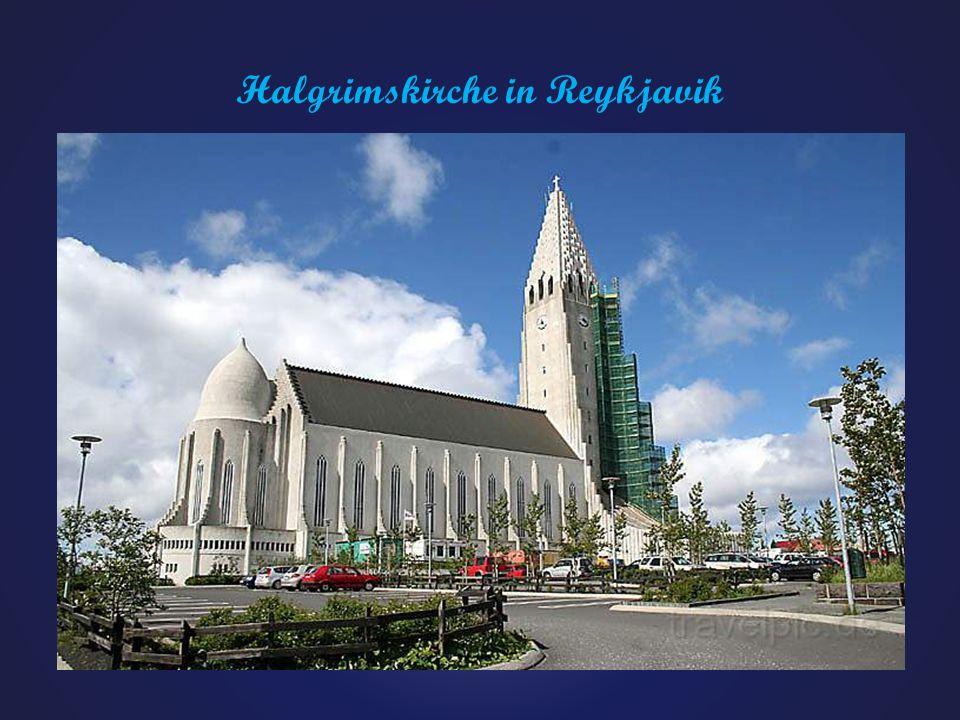 Halgrimskirche in Reykjavik