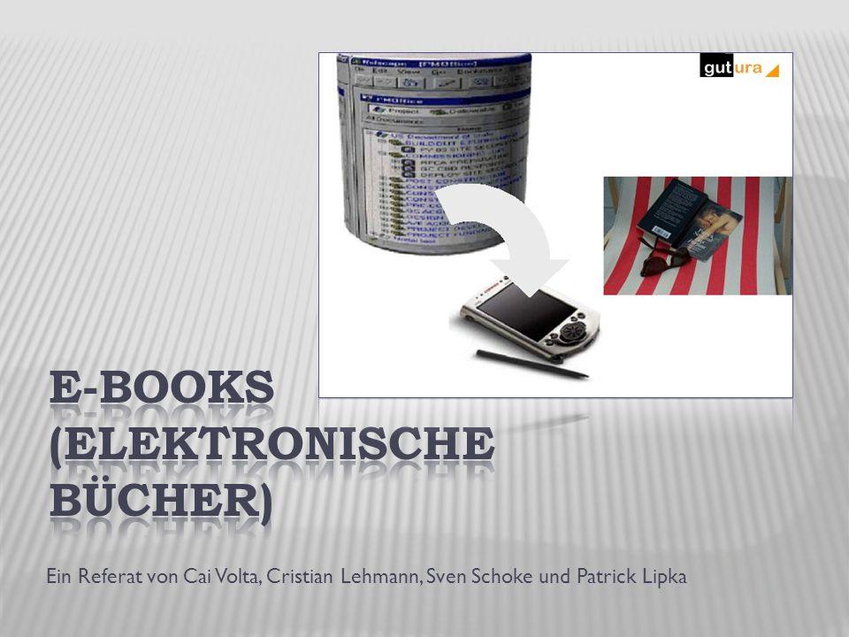 Ein Referat von Cai Volta, Cristian Lehmann, Sven Schoke und Patrick Lipka