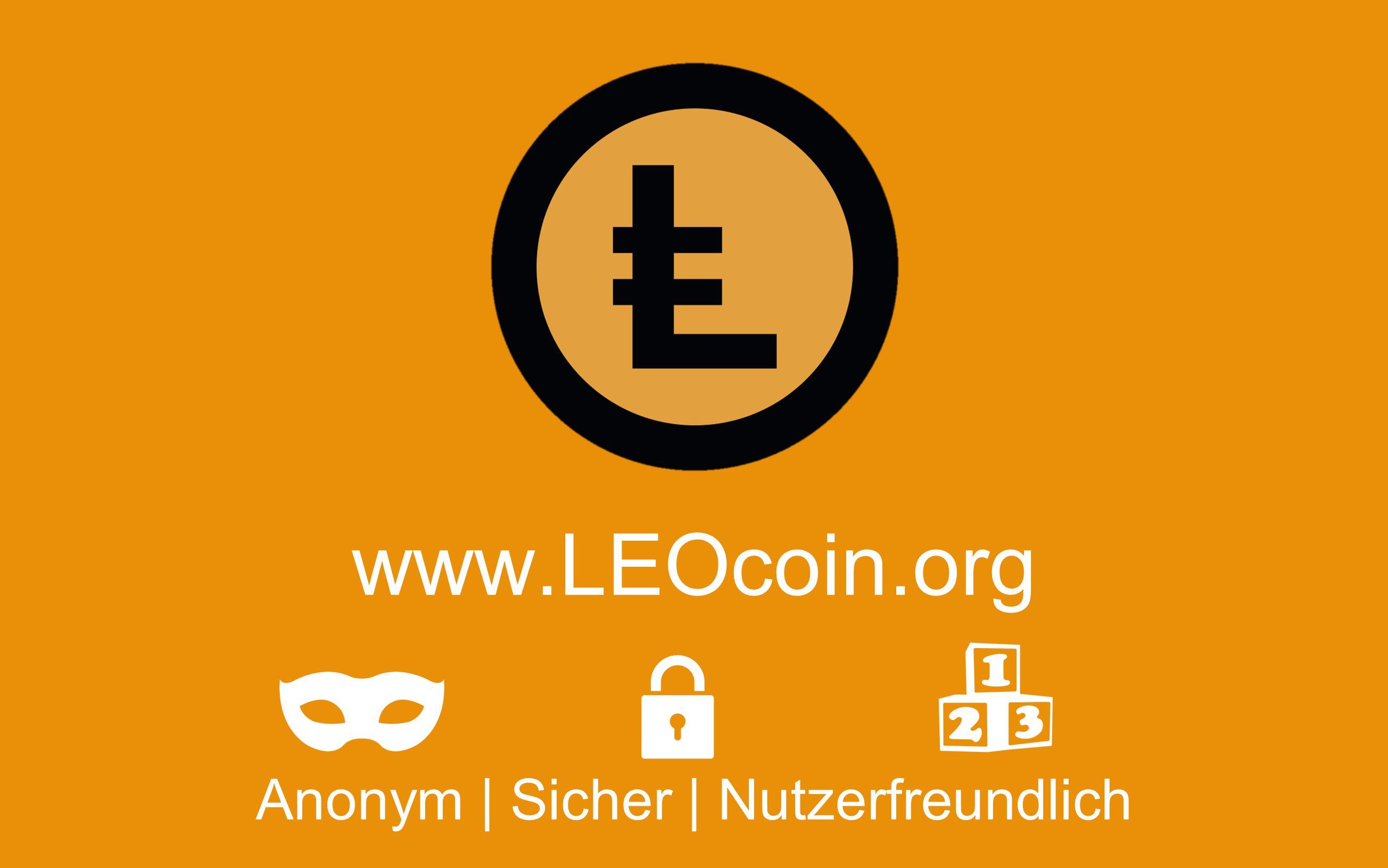 Anonym | Sicher | Nutzerfreundlich www.LEOcoin.org