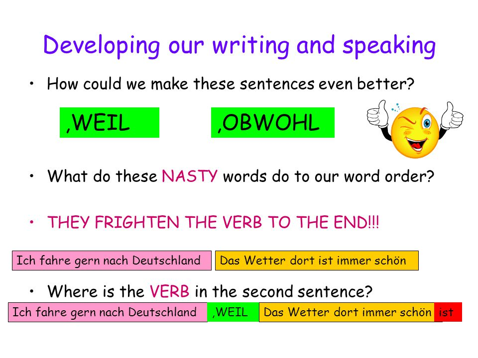 Where are the verbs……..