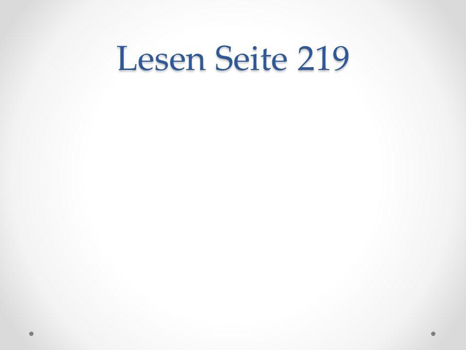 Lesen Seite 219