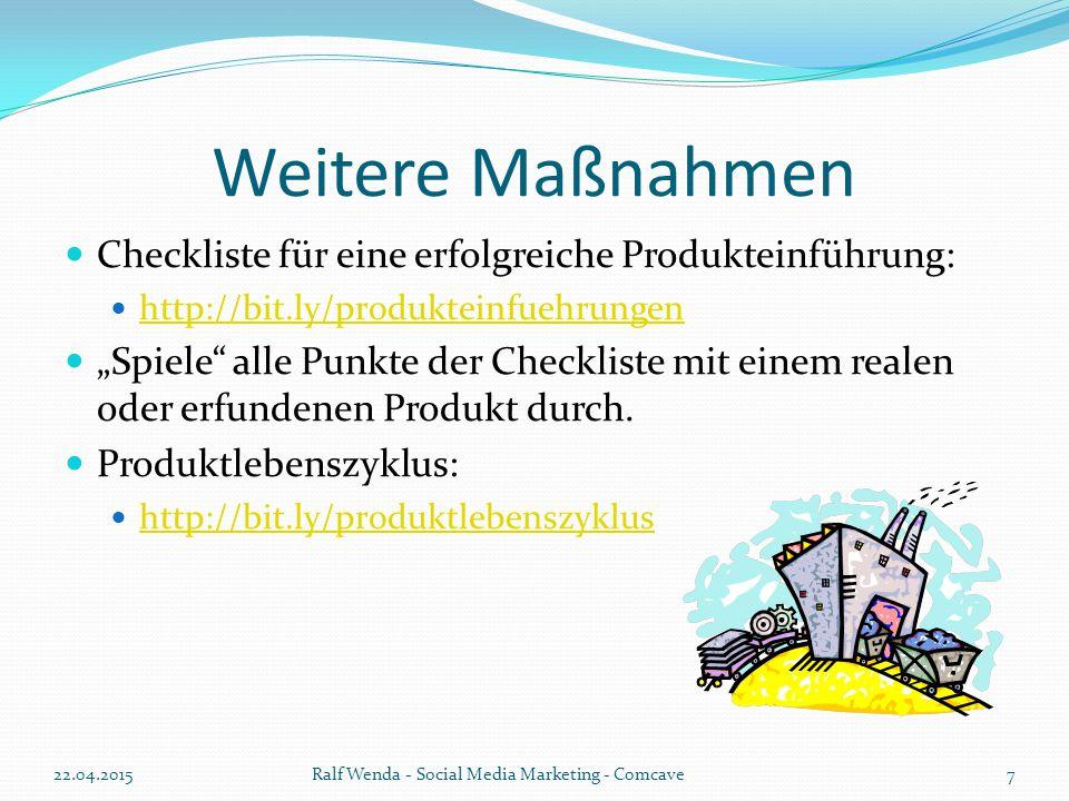 Produktcommunities Beispielvideo: http://bit.ly/produktCommunities Beispielplattform: http://www.trnd.com/ Noch Fragen zum Thema.