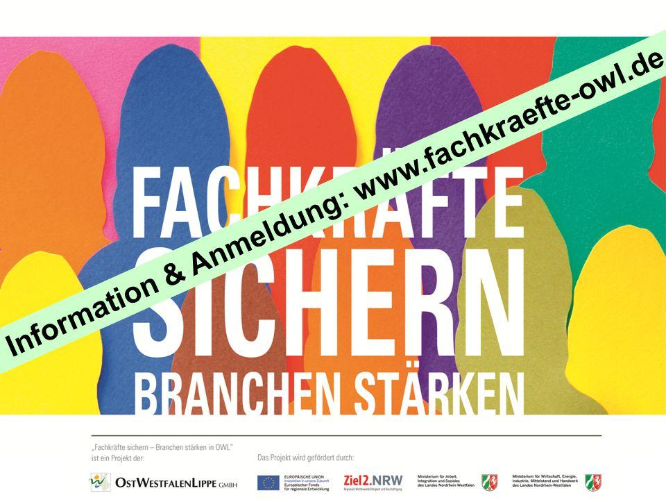 Information & Anmeldung: www.fachkraefte-owl.de
