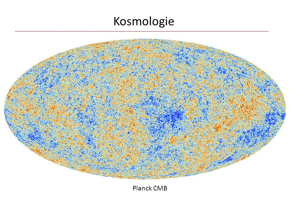 Kosmologie Planck CMB