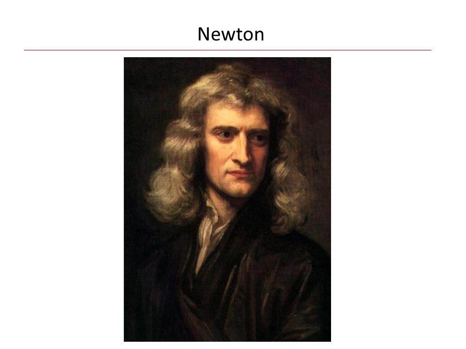 Das Gravitationsgesetz (1687):