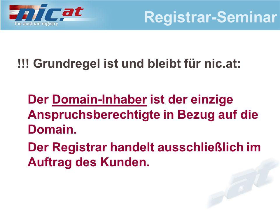 Registrar-Seminar !!.