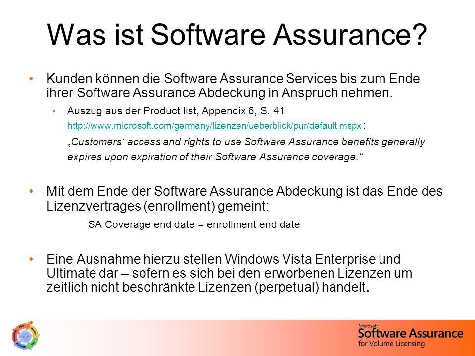 Open ValueSelect License, Enterprise Agreement, EA Subscription Server Pool 1 Subscription (Vor: mind.