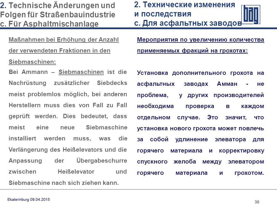 38 Мероприятия по увеличению количества применяемых фракций на грохотах: Установка дополнительного грохота на асфальтных заводах Амман - не проблема,