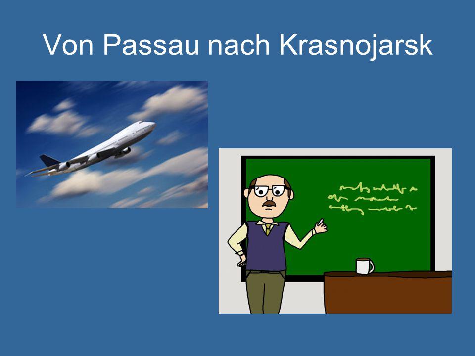 Von Passau nach Krasnojarsk