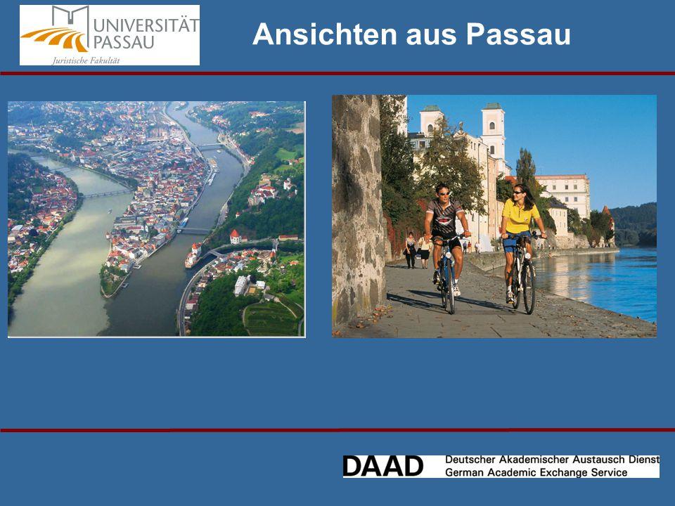 Ansichten aus Passau