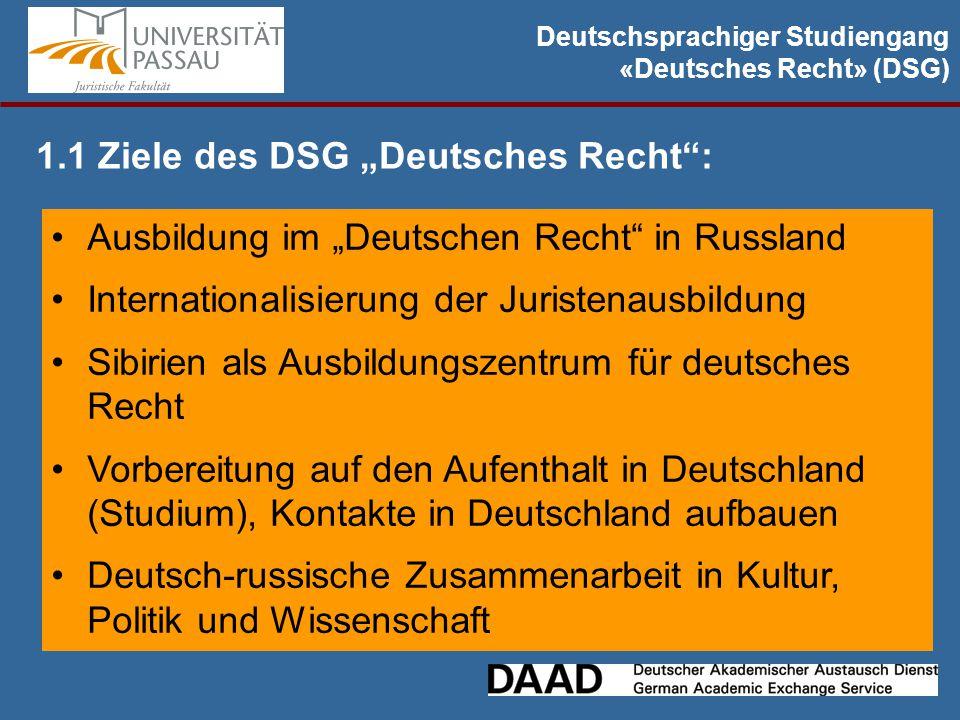 """2.8 Doppelmasterstudiengang """"Deutsches und Russisches Recht Voraussetzung für die Zulassung zum Doppelmaster – требования: -ein 4 jähriges Bachelorstudium mit Abschluss (25 % der Jahrgangsbesten) -DSH, mindestens Niveau B2/C1 oder TestDAF Für Fragen zum Doppelmaster: Dmitry Prokhorov dmitry.prokhorov@uni-passau.de Studenten aus Krasnojarsk sind derzeit in Passau, absolvieren Doppelmaster: Alina Rovba alyabu@mail.rualyabu@mail.ru German Yakobi german5011992@gmail.com"""