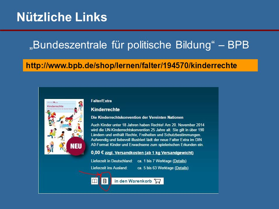 "http://www.bpb.de/shop/lernen/falter/194570/kinderrechte ""Bundeszentrale für politische Bildung – BPB"