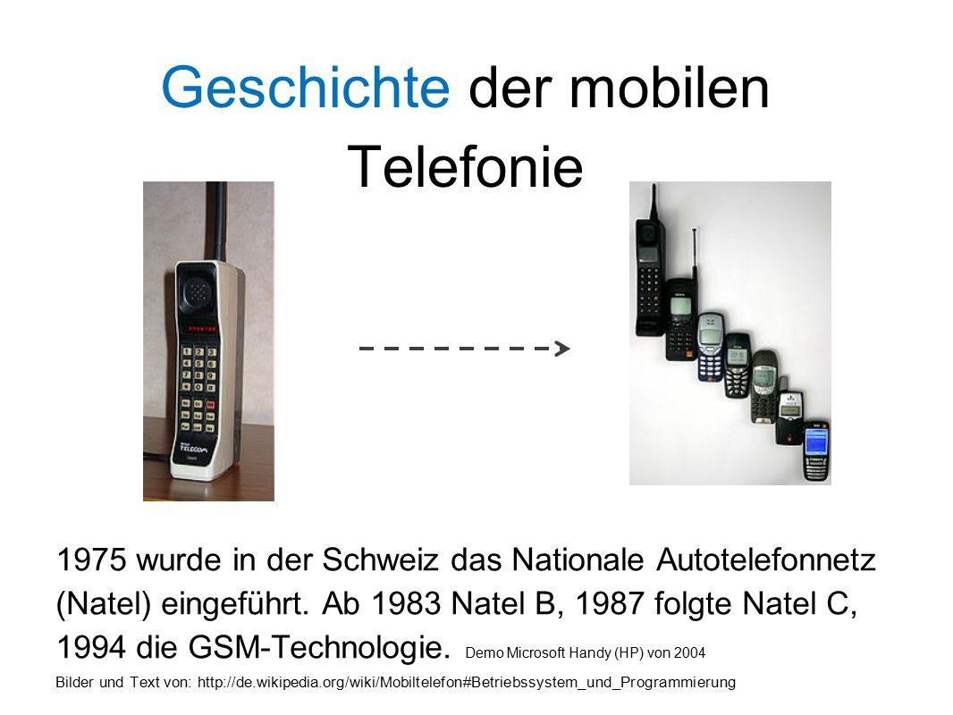 Mobilfunknetze - Was bedeuten die Bezeichnungen 2G, 3G oder 4G.