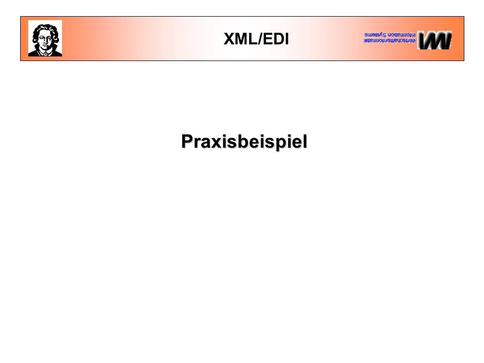 XML/EDI Praxisbeispiel
