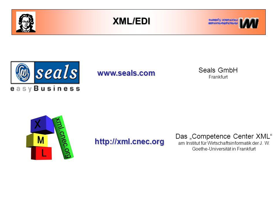 """http://xml.cnec.org Das """"Competence Center XML am Institut für Wirtschaftsinformatik der J."""