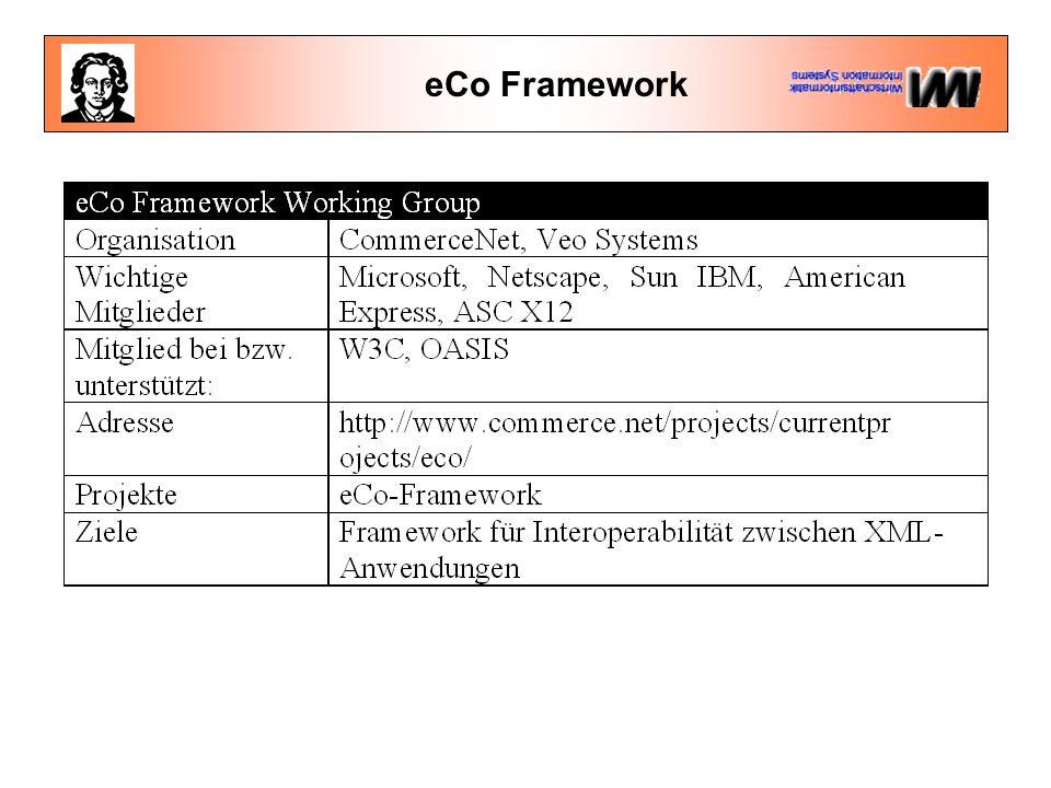 eCo Framework