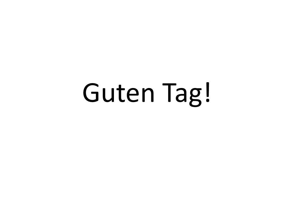 Asking a friends name and giving your own Guten Tag Wie heisst du? Ich heisse Jürgen. Und du?