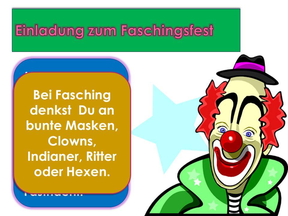 Fasching oder Karneval beginnt am 11.11.um 11 Uhr und 11 Minuten.