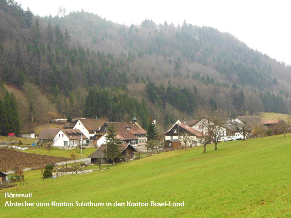 Bärenwil Abstecher vom Kanton Solothurn in den Kanton Basel-Land