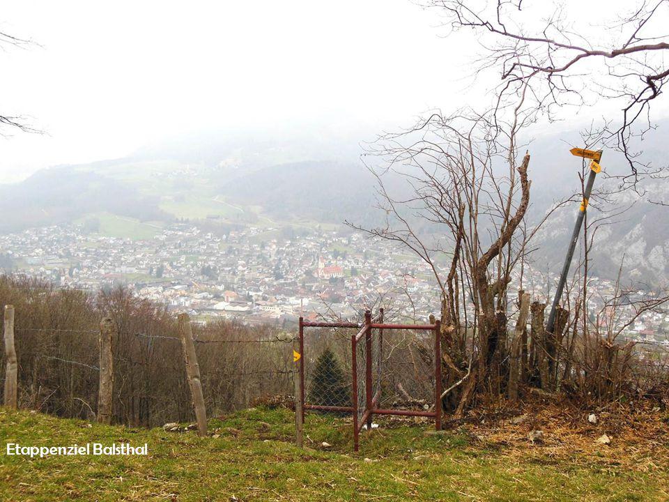 Etappenziel Balsthal