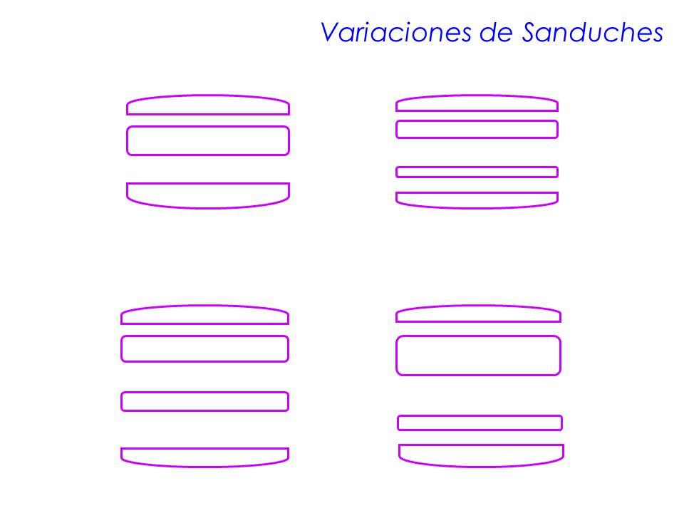 Variaciones de Sanduches