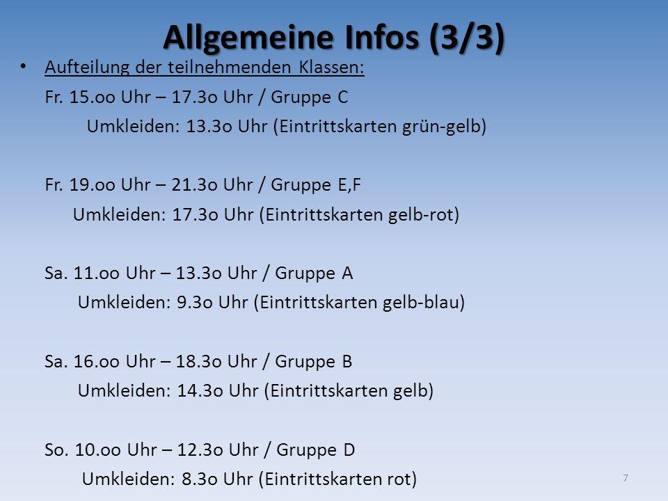 Sonntag, 19.04.2015 Aufbau  Beginn: 15.oo Uhr  Benötigte Helfer ca.