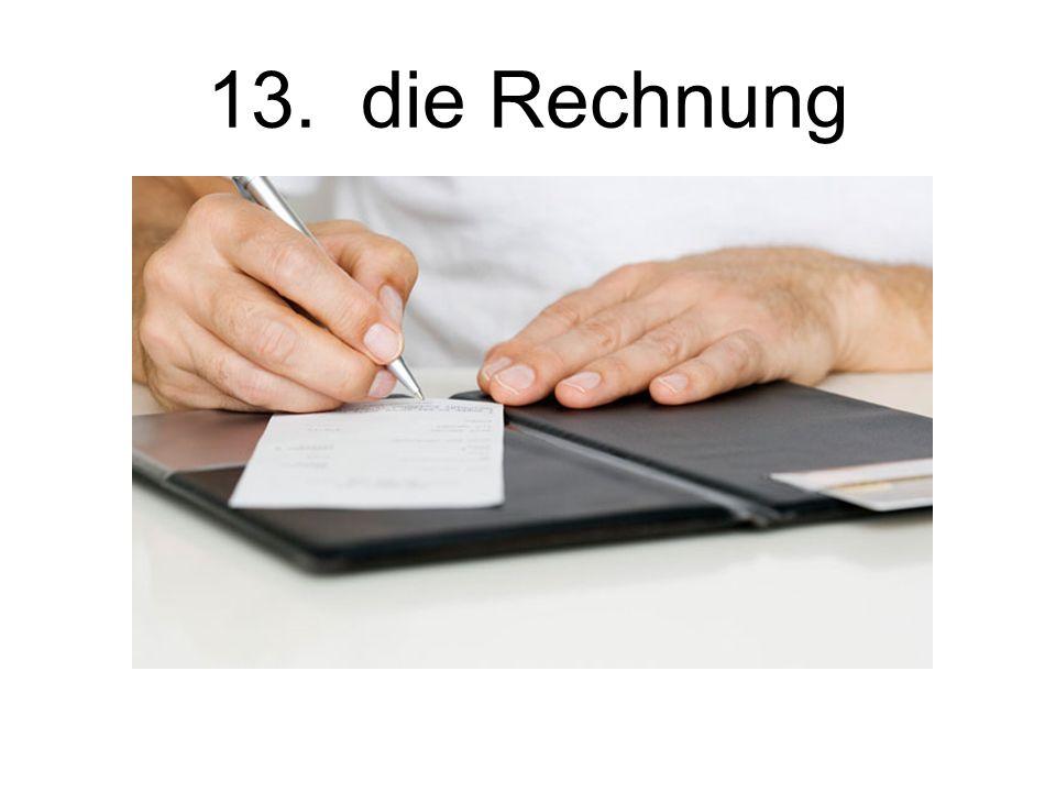 14. der Angestellter