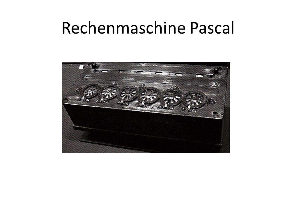 Rechenmaschine Pascal