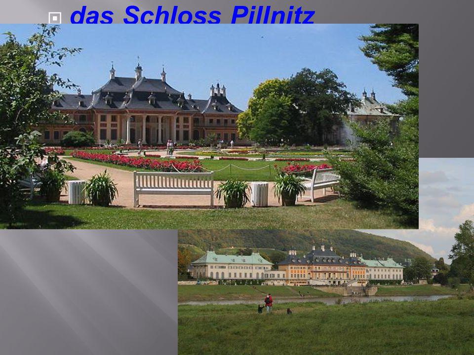  Die Dresdener Gemäldegalerie befindet sich im Zwinger.