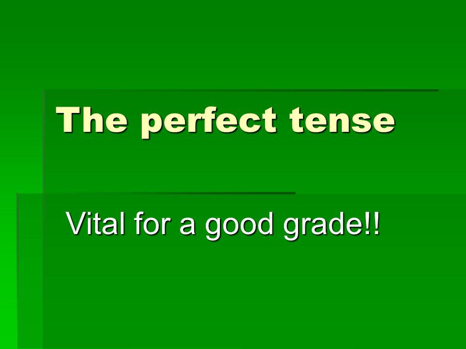 Some irregular verbs….
