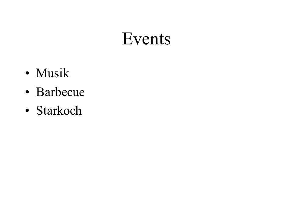 Events Musik Barbecue Starkoch