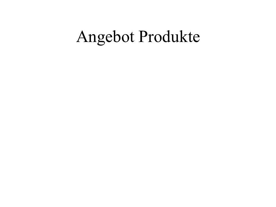 Angebot Produkte