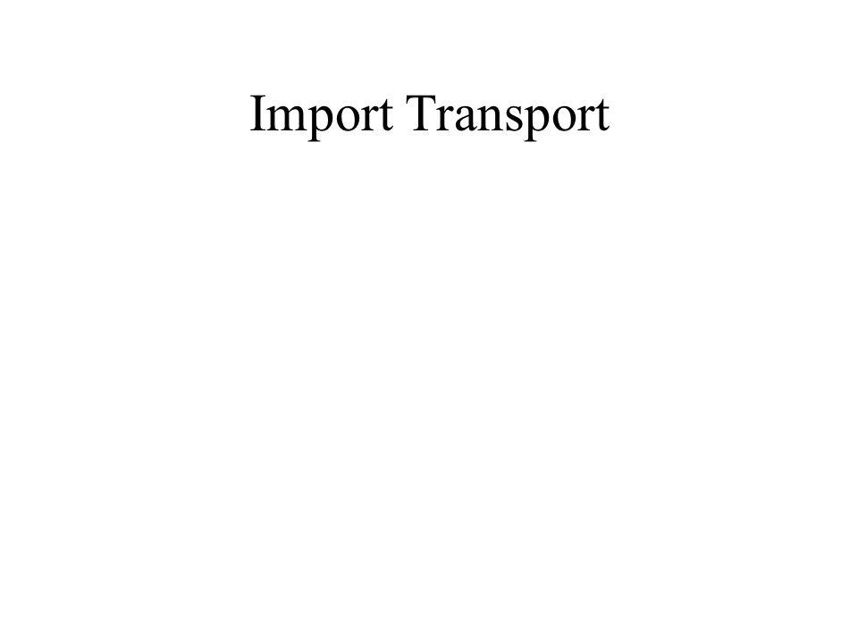 Import Transport