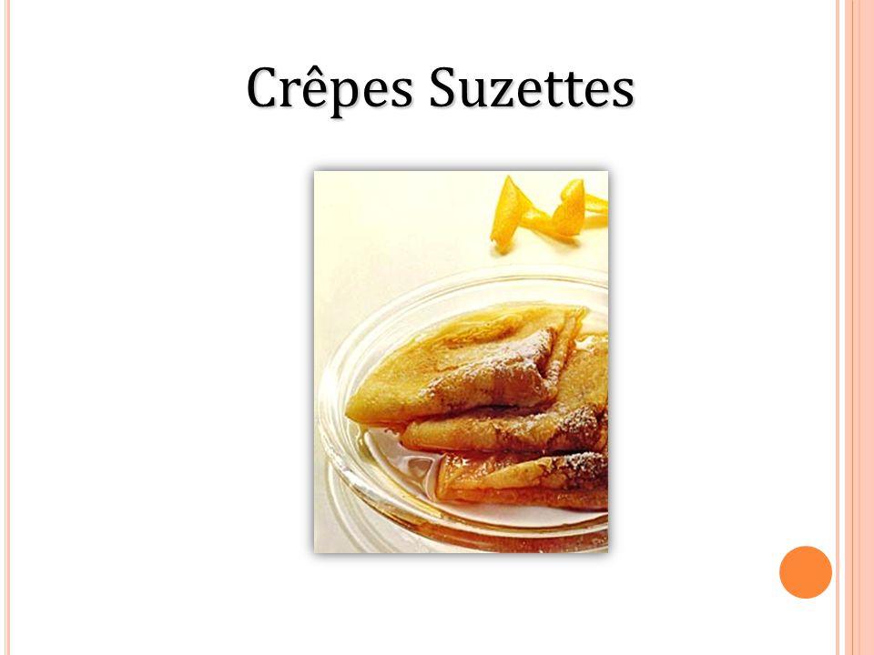 Crêpes Suzettes