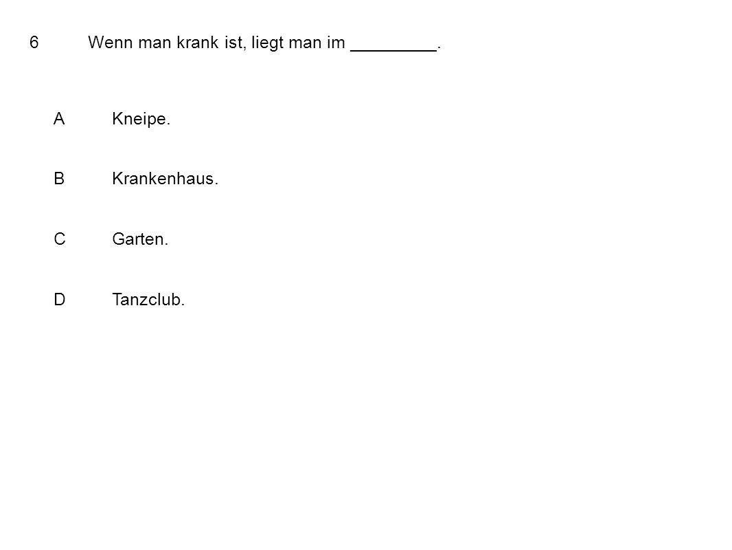 37What is not a greeting? AHallo! BBis Bald! CGuten Tag! DGuten Morgen!