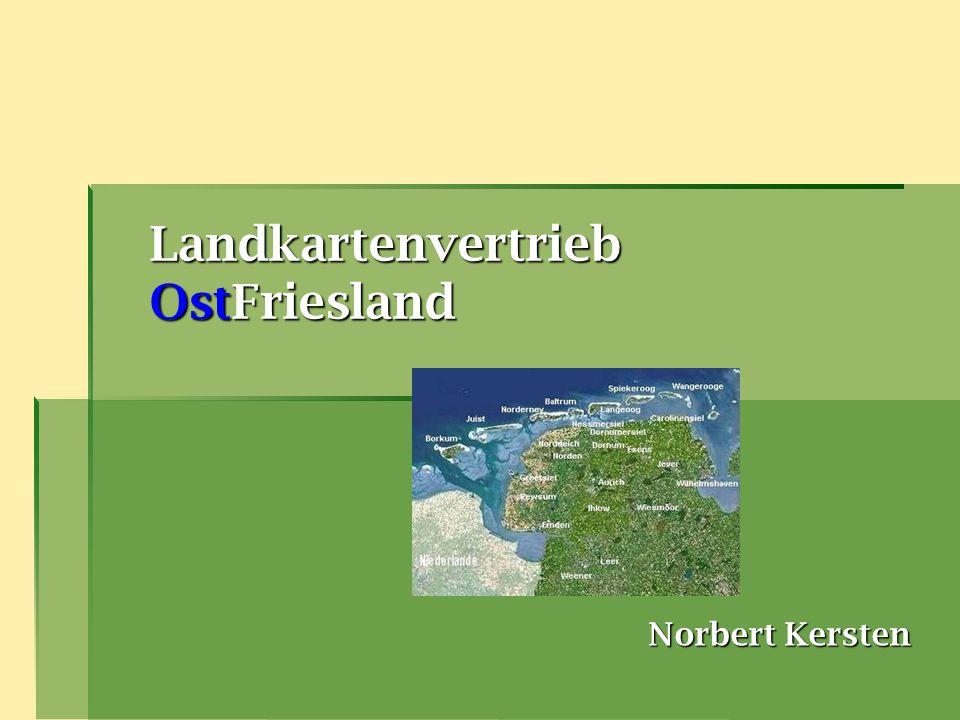 Landkartenvertrieb OstFriesland Norbert Kersten