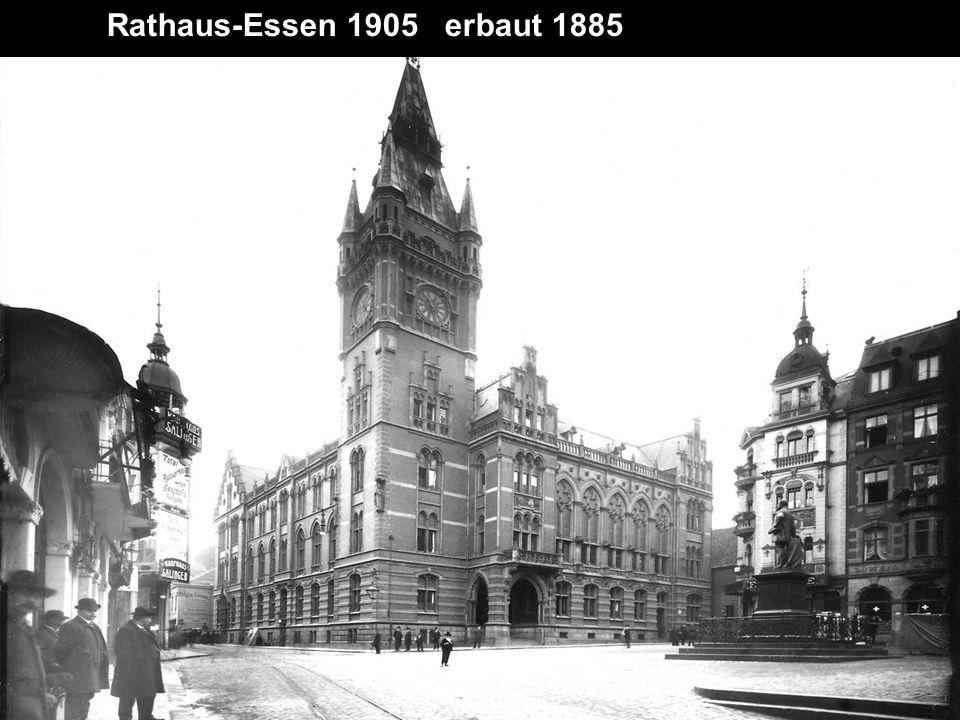 Essen 1910 Krupphallen Altendorferstraße später Musical Theater Colosseum, Berliner Platz