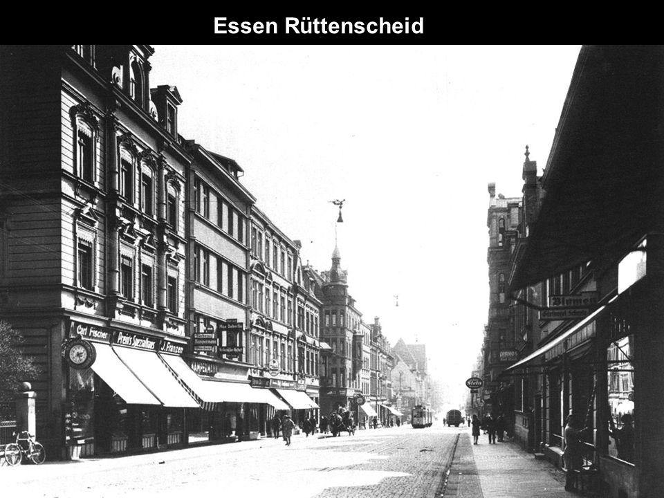 Stadtmitte Essen 1930 Post und Handelshof