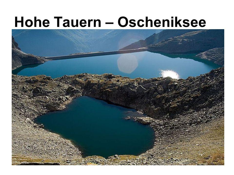 Hohe Tauern – Oscheniksee