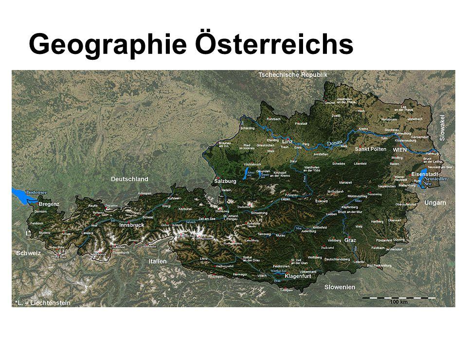 Geographie Österreichs