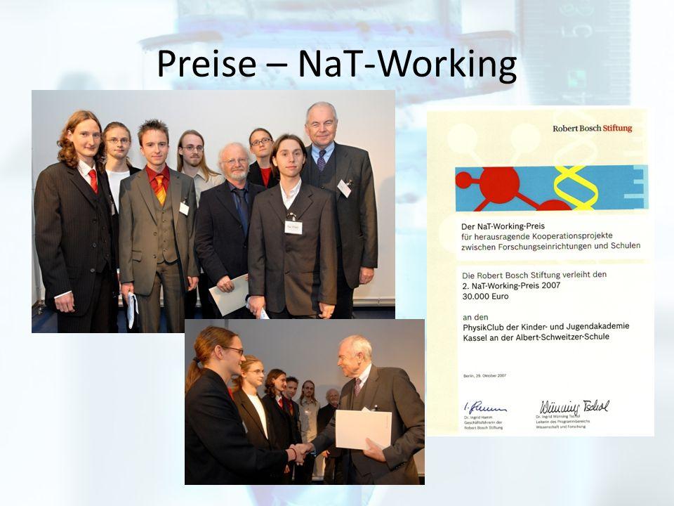 Preise – NaT-Working