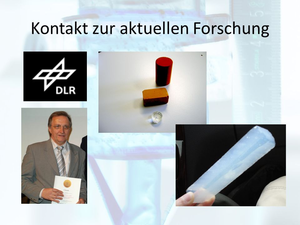 Preise - JugendForscht Regionalwettbewerb: SMA Innovationspreis + 1.Platz Landeswettbewerb: Schöpferisch beste Arbeit + 1.Platz