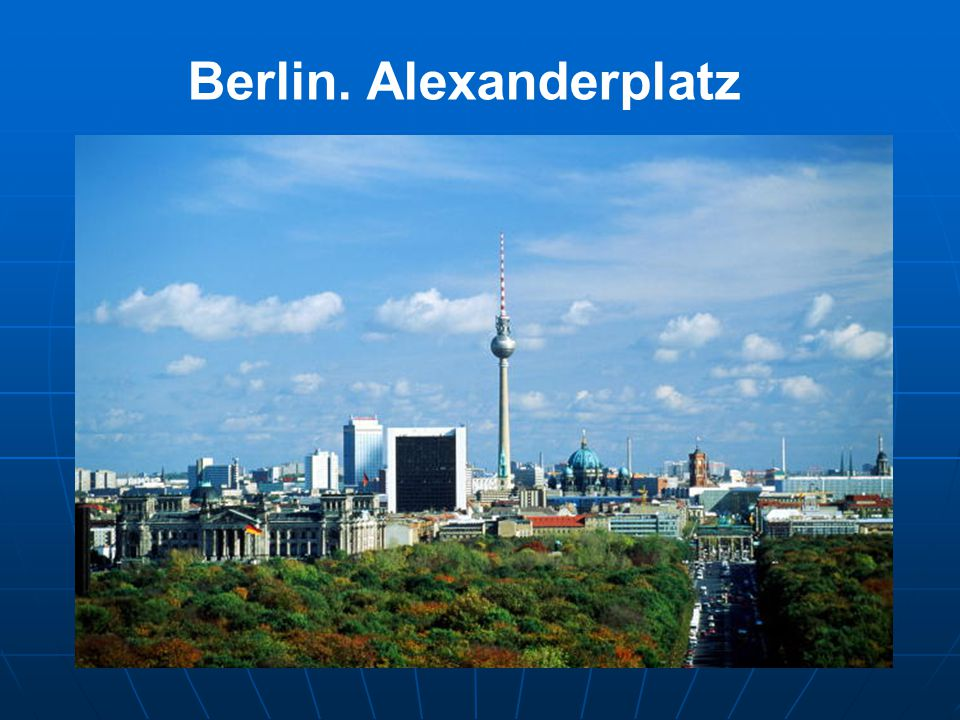 Berlin. Alexanderplatz