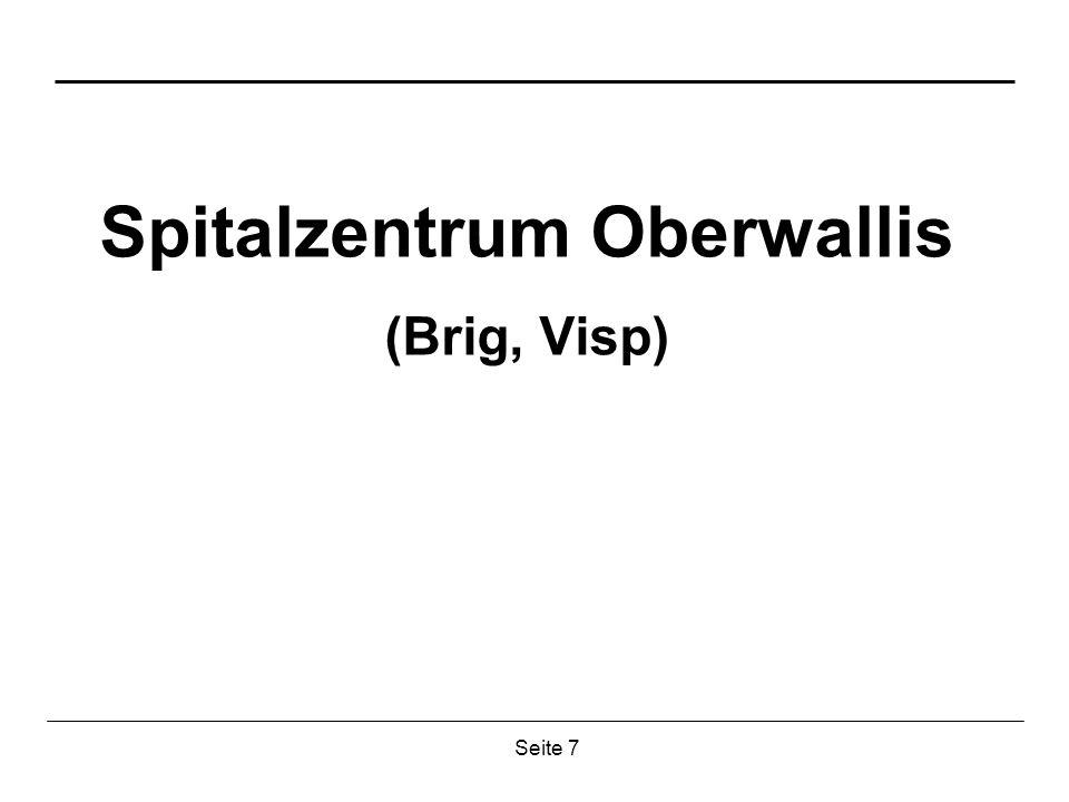 Seite 7 Spitalzentrum Oberwallis (Brig, Visp)